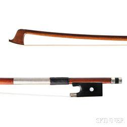 Nickel-mounted Violin Bow, Jean Joseph Martin