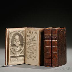 Montaigne, Michel de (1533-1592) Essays  , trans. Charles Cotton (1630-1687)