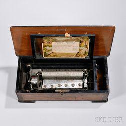 Six-air Cylinder Musical Box