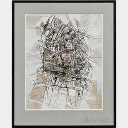 Edoardo Franceschini (Italian, 1928-2006)      Abstraction