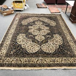 Indian Carpet with Persian Design