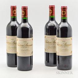 Chateau Branaire Ducru 2000, 4 bottles