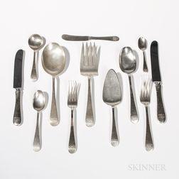 Gebelein Sterling Silver Flatware Service