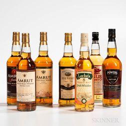 Mixed Whisky, 7 bottles