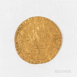 Richard II Plantagenets Gold Noble