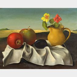 Georges Spiro (Polish/French, 1909-1994)    Surrealist Still Life