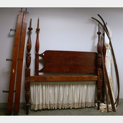 Classical Cherry Tall Post Bed