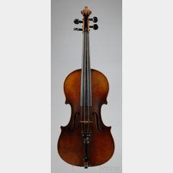 German Violin, Albert Knorr Workshop, Markneukirchen, c. 1925