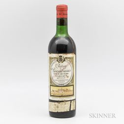Chateau Rauzan Gassies 1966, 1 bottle