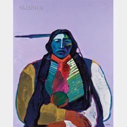 "John Nieto (American, b. 1936)      ""Big Horse"" Southern Cheyenne"