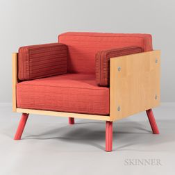 Paul Aferiat & Peter Stamberg by Knoll International 'Salsa' Club Chair