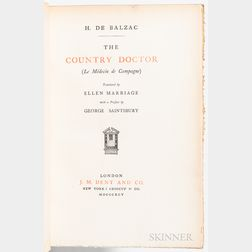 Balzac, Honore de (1799-1850) Comedie Humaine   Collected Works.
