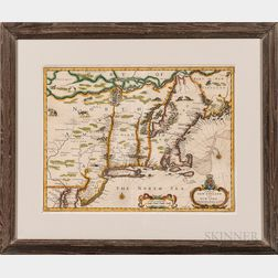 """""""A Map of New England and New York,"""""""