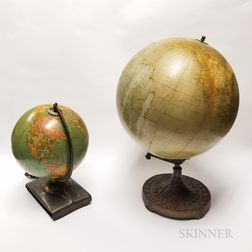 Two Desktop Globes