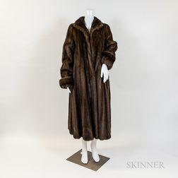 Three Georgeou Mink Fur Coats