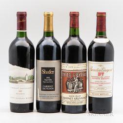 Mixed Vintage Napa Wines, 4 bottles