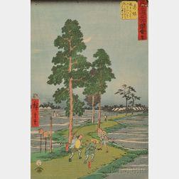 Three Hiroshige: