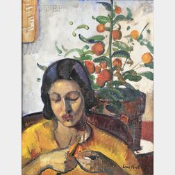 Leon Kroll (American, 1884-1975)      Jamaican Woman