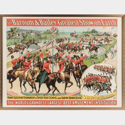 Two Lithograph Barnum & Bailey Circus Posters