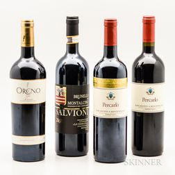Mixed Tuscan Wine, 4 bottles