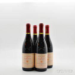 Domaine de Marcoux Chateauneuf du Pape 2001, 4 bottles