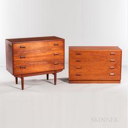 Borge Mogensen (1914-1972) for Soborg Mobler Dresser and Vanity