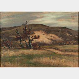 Eliot Candee Clark (American, 1883-1980)    Rolling Fields