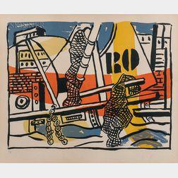 Fernand Léger (French, 1881-1955)      Le port de Trouville