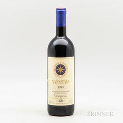 San Guido Sassicaia 1999, 1 bottle