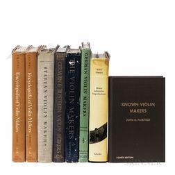 Eight Books on Violins