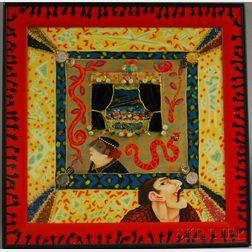 Lynne Loshbaugh (American, 20th Century)      Shrine Series: One True Love