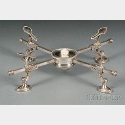 George III Silver Dish Cross