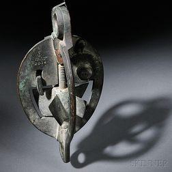 Thomas Walker & Son Brass Depth Finder