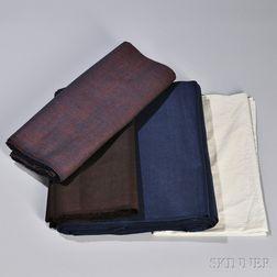 Four Shaker Textiles