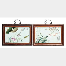 Pair of Porcelain Plaques