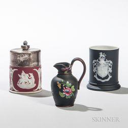 Three Small Wedgwood Items