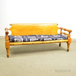 Country Turned Maple Sofa