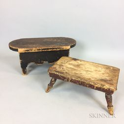 Two Cricket Stools