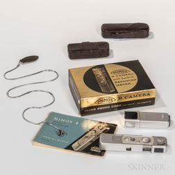 Minox B Subminiature Spy Camera