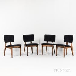 Four George Nelson (1908-1986) for Herman Miller Dining Chairs