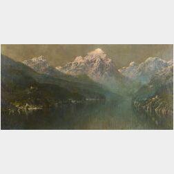 Hezekiah Anthony Dyer (American, 1872-1943)  Mountain Landscape