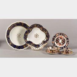 Twenty-six Assorted Derby Porcelain Items