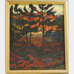 Lytton Briggs Buehler (American, b. 1888)      Provincetown, 1925