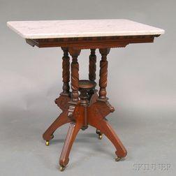 Eastlake Marble-top Table