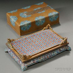 Rectangular Cloisonne Container