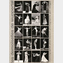 Fifteen Dance and Theater Posters:, Including an Autographed Bill T. Jones/Arnie Zane Dance Company Tenth Anniversary Poster, Two Poste