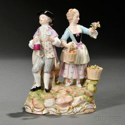 Meissen Porcelain Figure Group