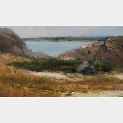 Helen Mary Knowlton (American, 1832-1913)      Rockbound Coast