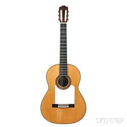 Spanish Flamenco Guitar, Arcángel Fernández, Madrid, 1961