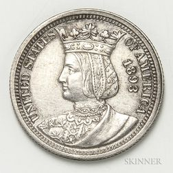 1893 Isabella Commemorative Quarter